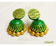 0 Terracotta Earring - Terracotta Jhumka TED412b