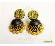 0 Terracotta Earring - Terracotta Jhumka TED412e