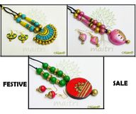 FESTIVE SALE* ! Combo of 3 Medium Sets-SAVE Rs 450 !! TMS4