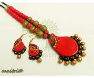 Terracotta Jewelry - Terracotta Set TSB207b