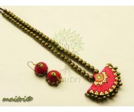 Terracotta Jewelry - Terracotta Set TSH523c