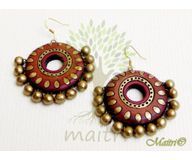 Terracotta Earring - Exclusive TEC437