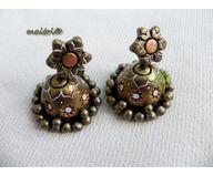 Terracotta Jewelry - Terracotta Earring TEZ26