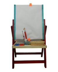 Easel Stand: Floor Easel: Single station with tray