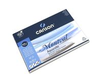 Canson Montval 300 GSM 18 x 25 cm Pad of 12 Fine Grain Sheets