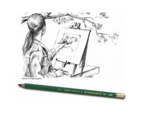 General's Kimberly Premium Graphite Drawing Pencils - Soft Degrees - Art Set of 8 Pieces