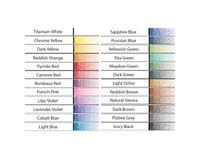 Koh-I-Noor Mondeluz Artist's Water Soluble Coloured Pencils - Assorted - Set of 24 in Card Box