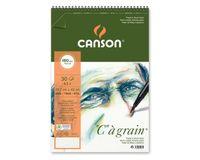 Canson C a' grain 180 GSM A3+ Album of 30 Fine Grain Sheets