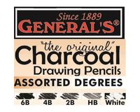 """General's """"The Original"""" White Charcoal Pencil"""
