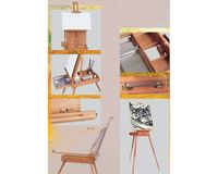 MABEF Beech Wood Big Sketch Box Easel
