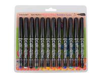 Manuscript Callicreative 12 Assorted Italic Marker Pens - Fine
