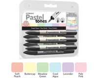 Letraset ProMarkers Set of 6 Pastel Tones