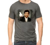 dr rajkumar tshirt round neck  charcoal grey colour with high quality print
