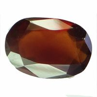 6.42 ct. / 7.13 Ratti NATURAL & GJSPC CERTIFIED HESSONITE GARNET (Gomed) ASTROLOGICAL GEMSTONE BY ARIHANT GEMS & JEWELS