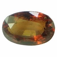 5.47 ct. / 6.08 Ratti NATURAL & GJSPC CERTIFIED HESSONITE GARNET (Gomed) ASTROLOGICAL GEMSTONE BY ARIHANT GEMS & JEWELS