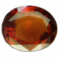 4.7 ct. / 5.22 Ratti NATURAL & GJSPC CERTIFIED HESSONITE GARNET (Gomed) ASTROLOGICAL GEMSTONE BY ARIHANT GEMS & JEWELS