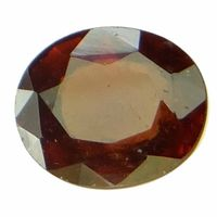 6.01 ct. / 6.68 Ratti NATURAL & GJSPC CERTIFIED HESSONITE GARNET (Gomed) ASTROLOGICAL GEMSTONE BY ARIHANT GEMS & JEWELS