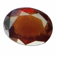 5.26 ct. / 5.84 Ratti NATURAL & GJSPC CERTIFIED HESSONITE GARNET (Gomed) ASTROLOGICAL GEMSTONE BY ARIHANT GEMS & JEWELS