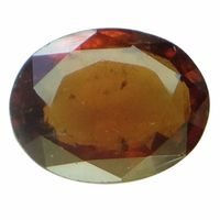 4.93 ct. / 5.48 Ratti NATURAL & GJSPC CERTIFIED HESSONITE GARNET (Gomed) ASTROLOGICAL GEMSTONE BY ARIHANT GEMS & JEWELS