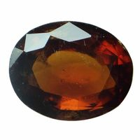 5.05 ct. / 5.61 Ratti NATURAL & GJSPC CERTIFIED HESSONITE GARNET (Gomed) ASTROLOGICAL GEMSTONE BY ARIHANT GEMS & JEWELS