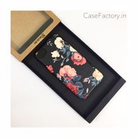 Black red roses Phone Case