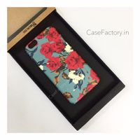 Teal and white roses  Phone Case