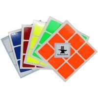 Cubesmith 3x3 Half-Bright Sticker Set Standard Size
