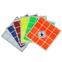 Cubesmith 4x4 Half-Bright Sticker Set