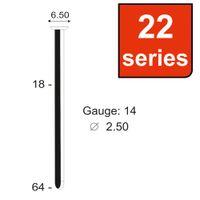CONCRETE NAILS HIGH CARBON STEEL 22 SERIES