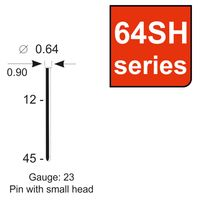 PINS KAYMO 64 SERIES W/SMALL HEAD