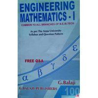 Engineering Mathematics 1 | G.Balaji