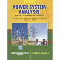 Power System Analysis   M.Jeraldin Ahila