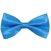 Tiekart men blue double bow tie