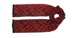 Tiekart men red scarf