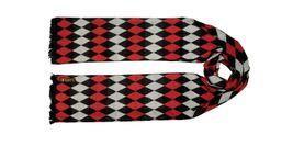 Tiekart men red checked  scarf