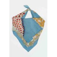 Tiekart men blue  silk scarf