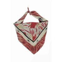 Tiekart men brown silk scarf