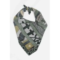 Tiekart men grey silk scarf