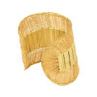Tiekart women golden bracelet cuff
