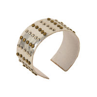 Tiekart women silver bracelet cuff