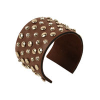 Tiekart women brown bracelet cuff