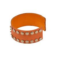 Tiekart women orange bracelet cuff