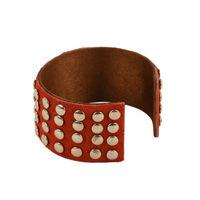 Tiekart women red bracelet cuff