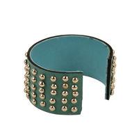 Tiekart women green bracelet cuff