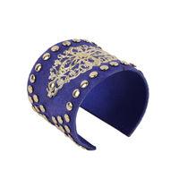 Tiekart women blue bracelet cuff