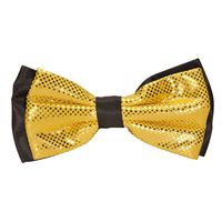 Tiekart men yellow polka dot knotted double bow tie