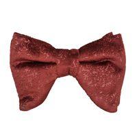Tiekart men brown  velvet bow tie