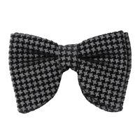 grey velvet impression bow ties  partywear for men