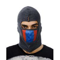 Tiekart men grey bikers mask