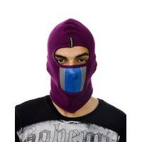 Tiekart men purple bikers mask
